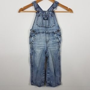 Oshkosh B'Gosh Vestbak Denim Overalls 18-24 months